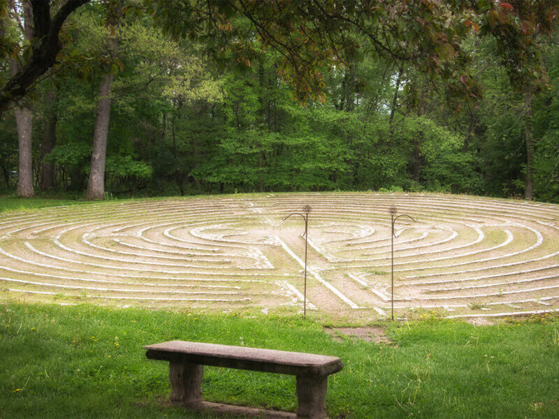 Sinsinawa Outdoor Labyrinth